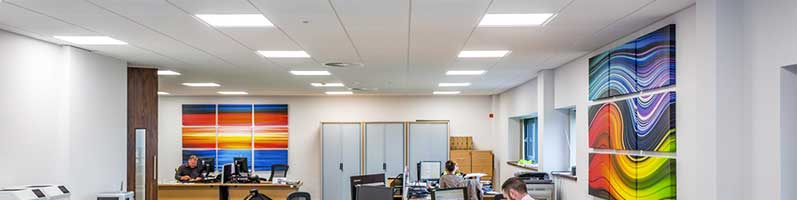 Energy Reduction - LED Office Lighting